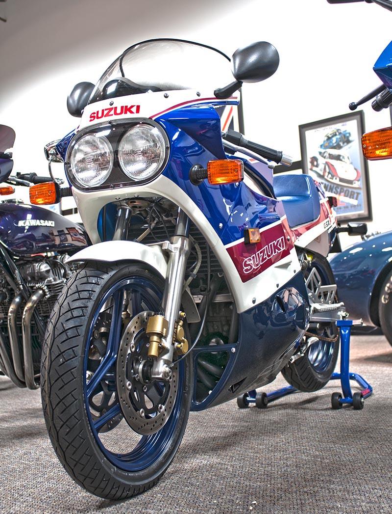 1986 Suzuki GSXR 750 Limited Edition sm